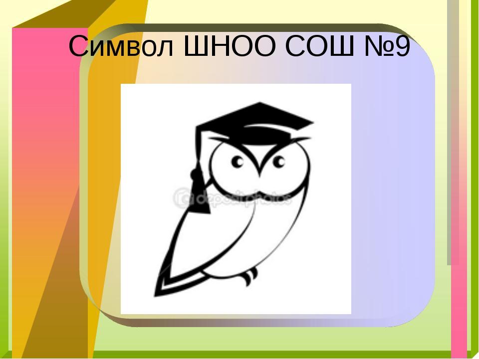 Символ ШНОО СОШ №9