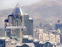 Almaty city, Kazakhstan view