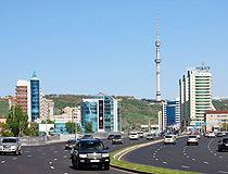 Alma-Ata city scenery