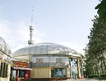 Almaty city scenery