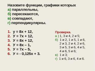 Задание для самостоятельной работы ! Даны две линейные функции y = k1x + m1 и