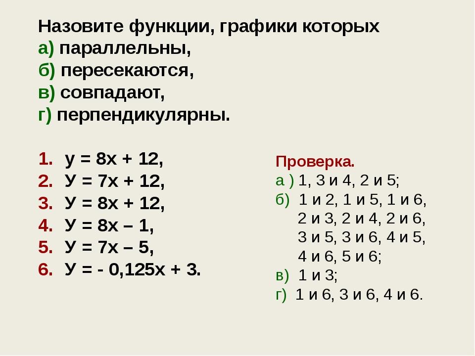 Задание для самостоятельной работы ! Даны две линейные функции y = k1x + m1 и...