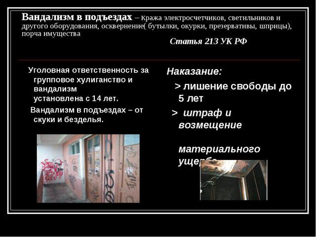 Вандализм в подъездах – кража электросчетчиков, светильников и другого оборуд...