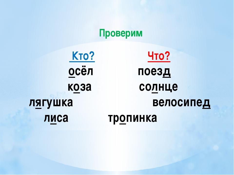 1)Как называются имена существительные отвечающие на вопрос «что?» Власова Е...