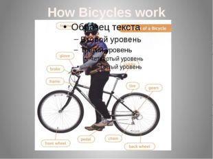 How Bicycles work