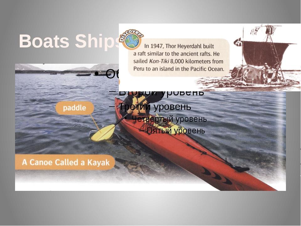 Boats Ships