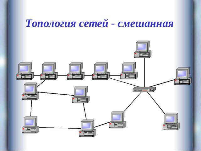 Топология сетей - смешанная