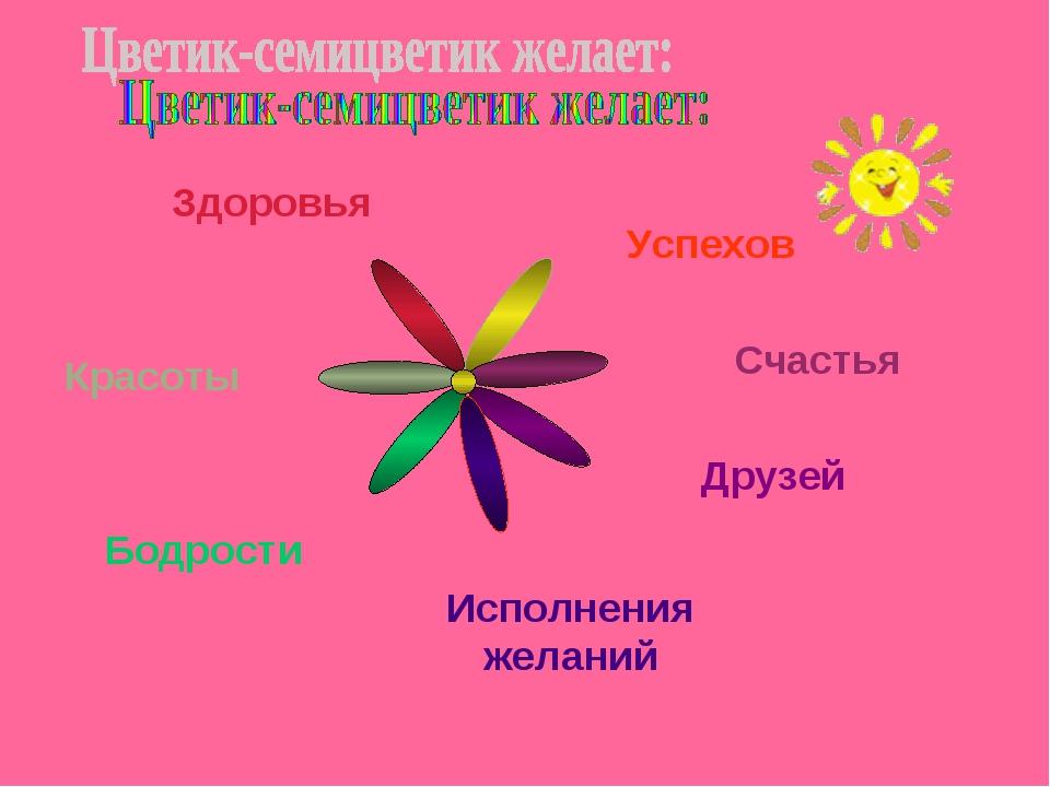 Цветик семицветик с пожеланиями своими руками 93