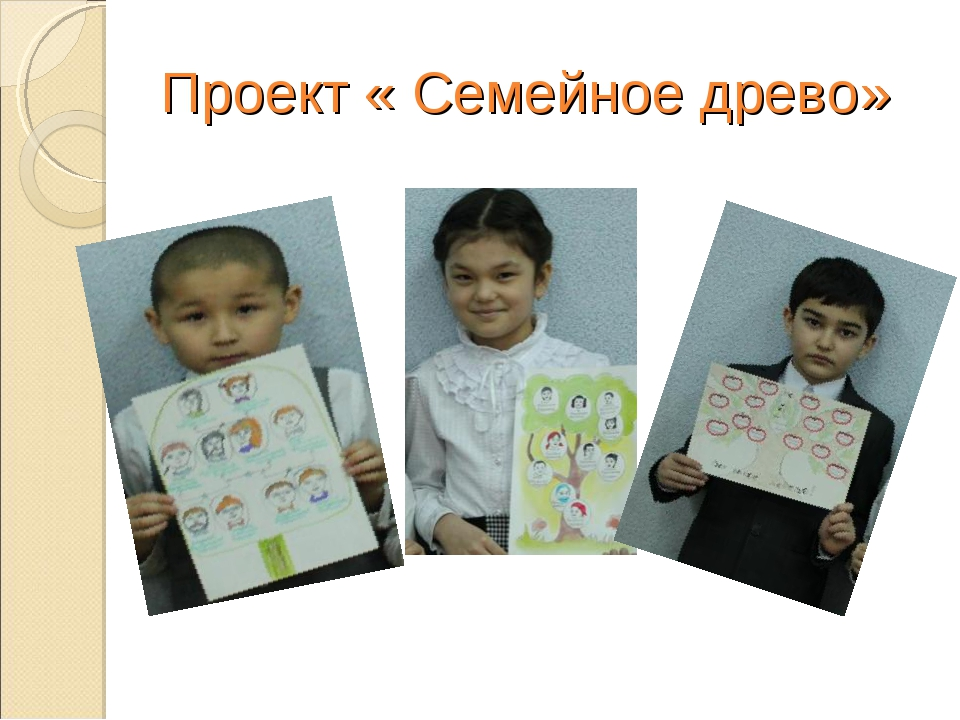 Проект « Семейное древо»