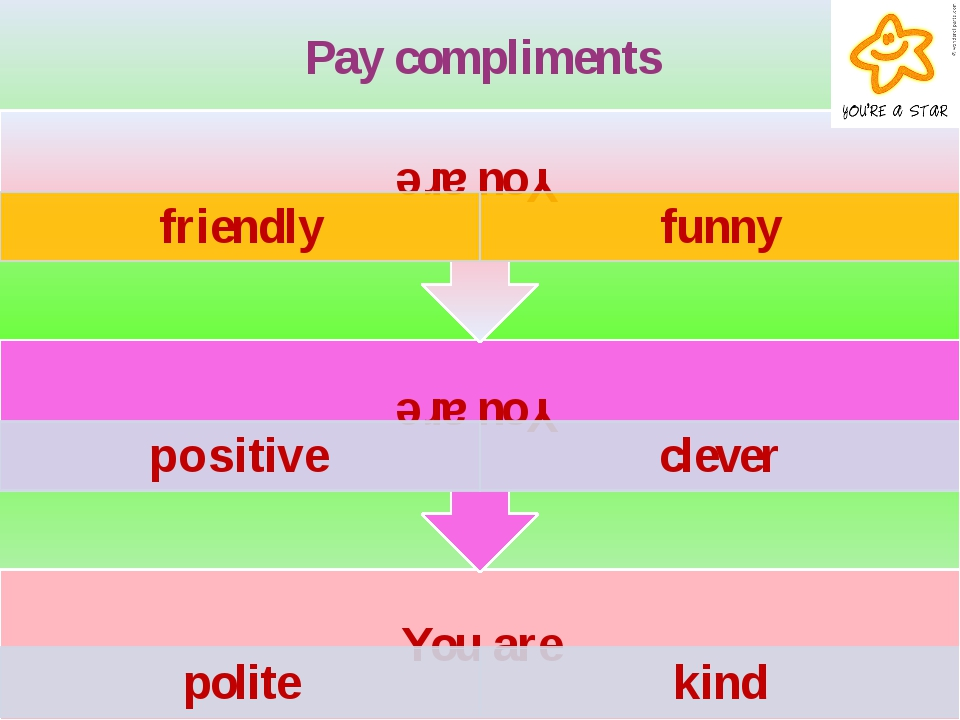 Pay compliments