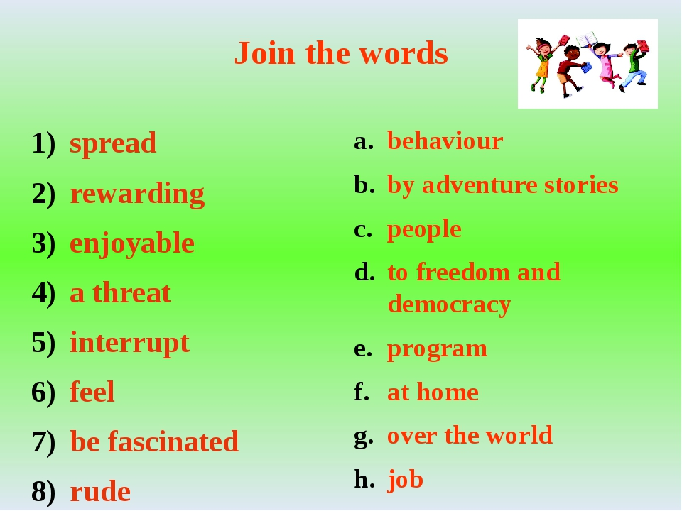 Join the words spread rewarding enjoyable a threat interrupt feel be fascinat...