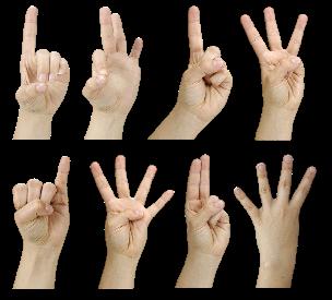 Палец в фотошопе что она делает