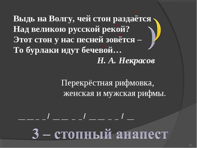 Выдь на Волгу, чей стон раздаётся Над великою русской рекой? Этот стон у нас...