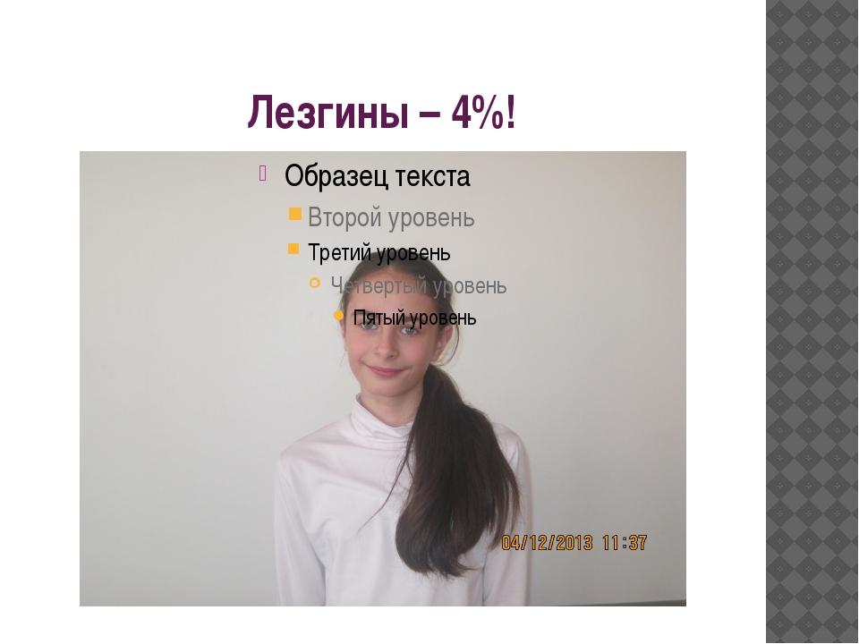 Лезгины – 4%!