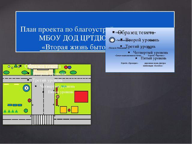 План проекта по благоустройству территоррии МБОУ ДОД ЦРТДЮ пгт. Шерегеш «Втор...