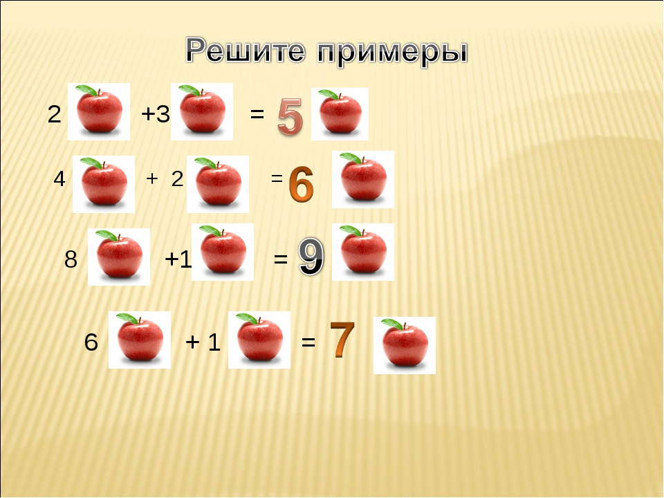 2 +3 = 4 + 2 = 8 +1 = 6 + 1 =