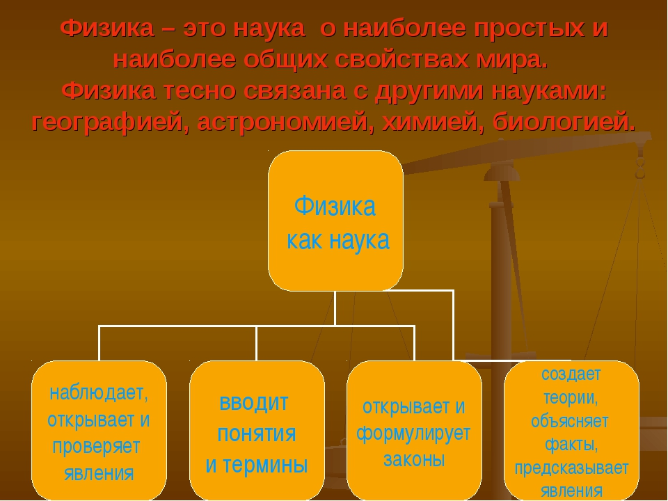 Физика – это наука о наиболее простых и наиболее общих свойствах мира. Физика...