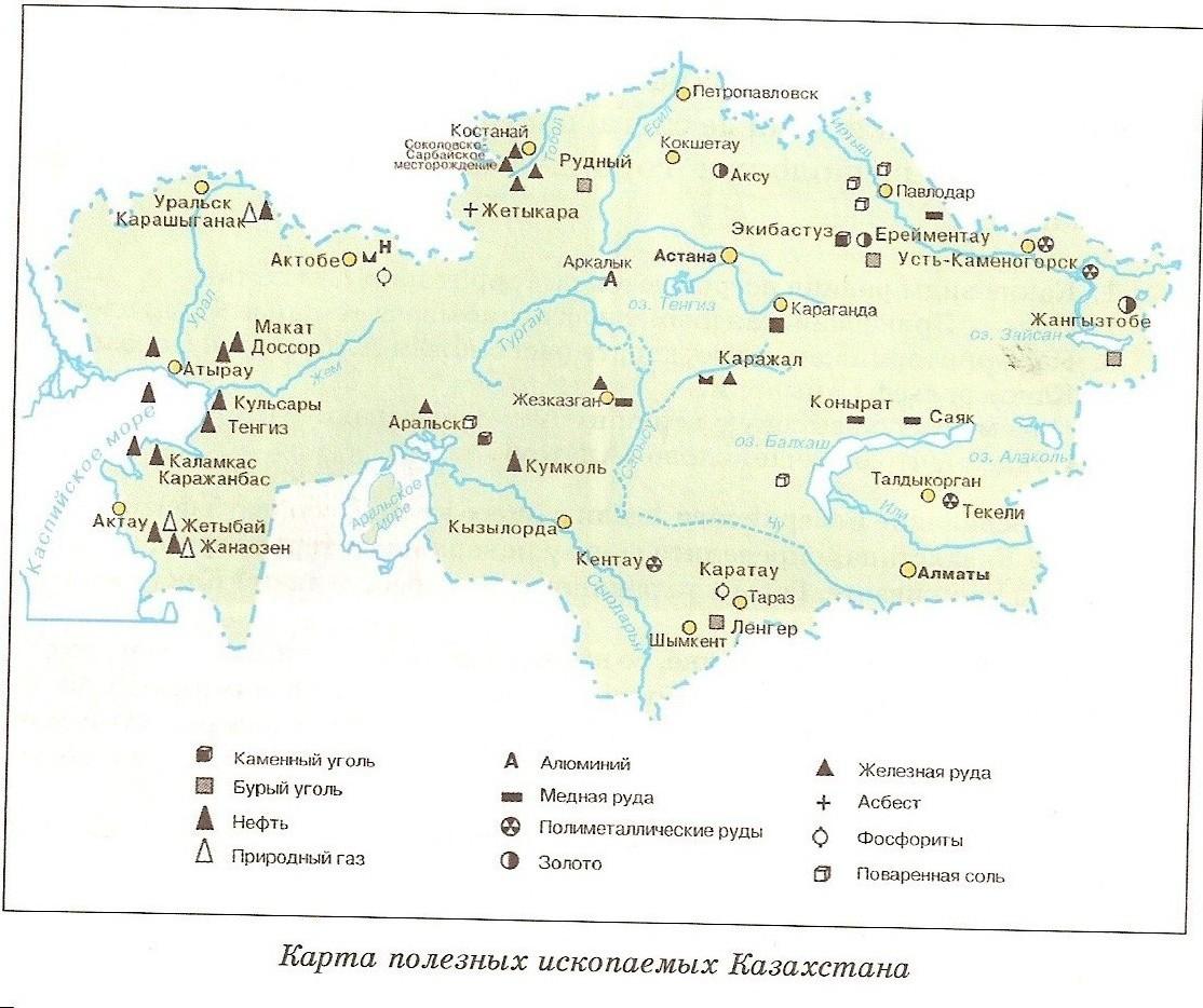 C:\Users\user\Desktop\урок познание мира\карат полезных ископаемы Казахстана.jpg