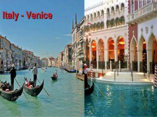 ltaly - Venice Ita