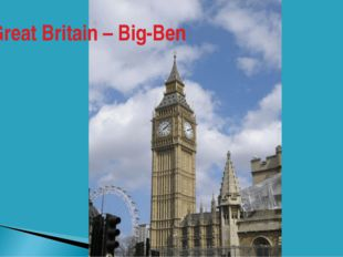 Great Britain – Big-Ben