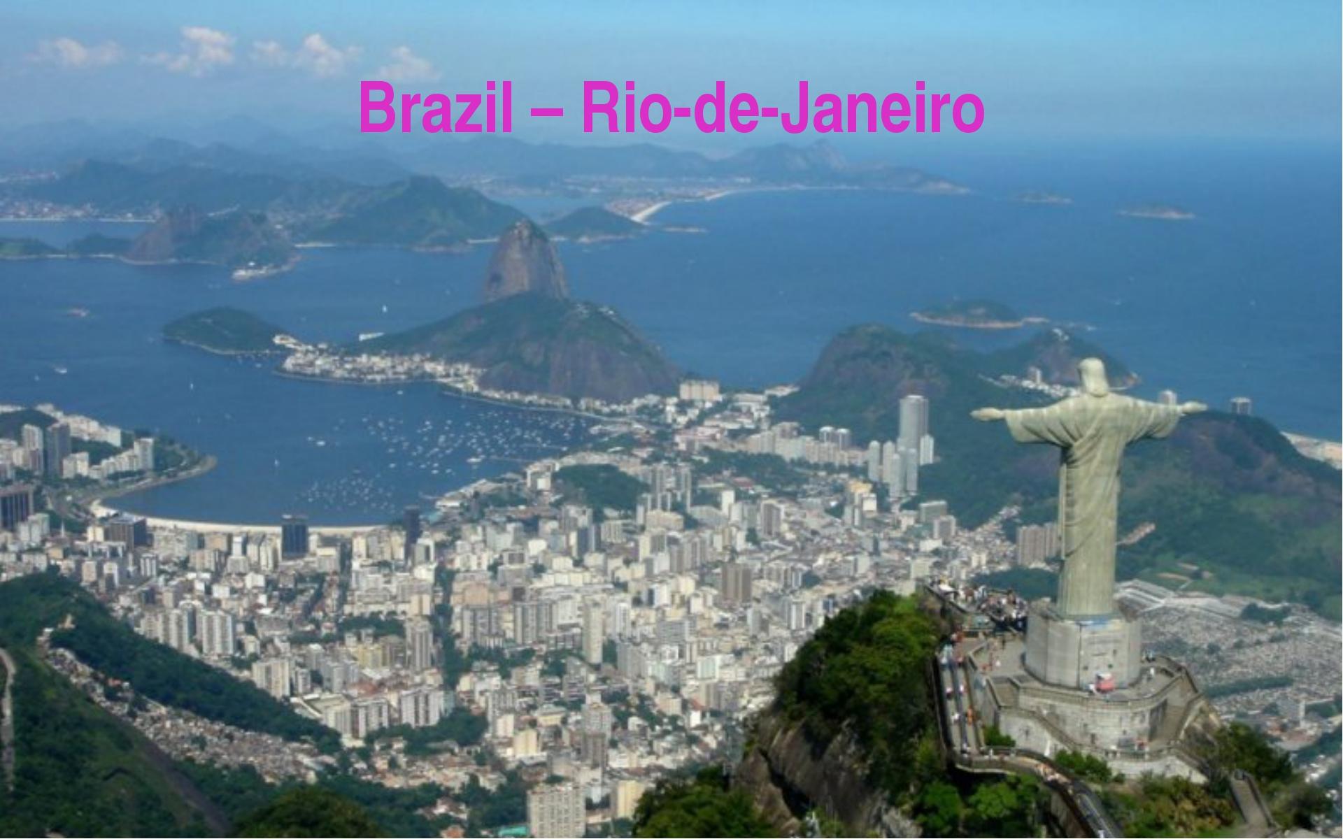 Brazil – Rio-de-Janeiro