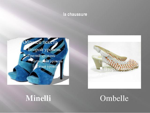la chaussure Minelli Ombelle