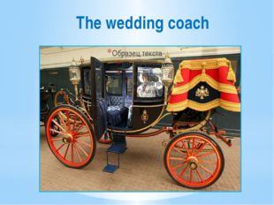 The wedding coach