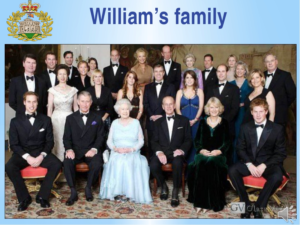 William's family