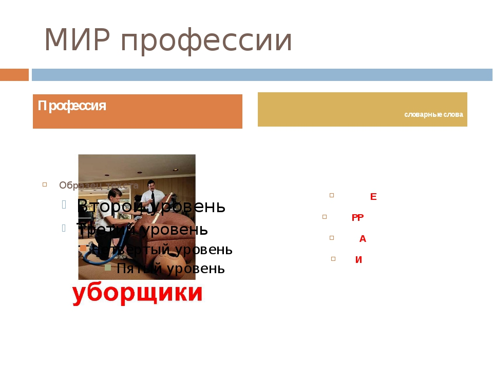 МИР профессии ПЫЛЕСОС ТЕРРИТОРИЯ КВАРТИРА ЧИСТОТА Профессия словарные слова