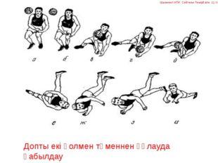 Допты екі қолмен төменнен құлауда қабылдау Шымкент ИПК Сейтжан Темірғали 11 топ