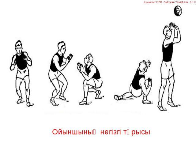 Ойыншының негізгі тұрысы Шымкент ИПК Сейтжан Темірғали 11 топ