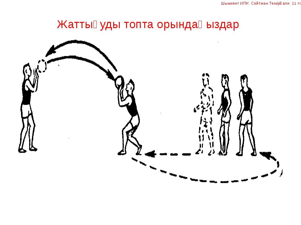 Жаттығуды топта орындаңыздар Шымкент ИПК Сейтжан Темірғали 11 топ