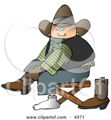 http://images.clipartof.com/small/4371-Cowboy-Putting-Boots-On-Feet.jpg