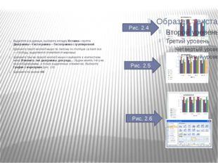 Выделите все данные, выберите вкладку Вставка—группа Диаграммы—Гистограмма— Г