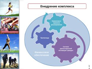 Внедрение комплекса Финансовое обеспечение 14 ProPowerPoint.Ru