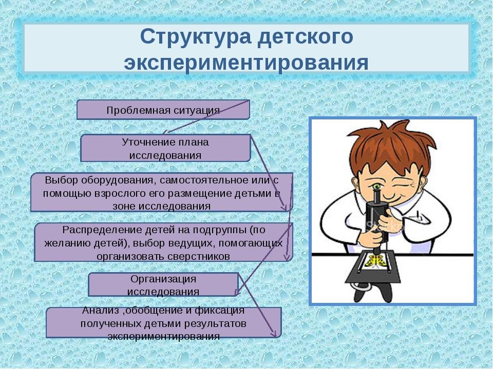 Проблемная ситуация Организация исследования Уточнение плана исследования Рас...