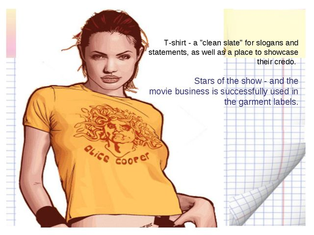 "T-shirt - a ""clean slate"" for slogans and statements, as well as a place to s..."