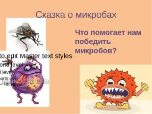 Сказка о микробах Что помогает нам победить микробов?
