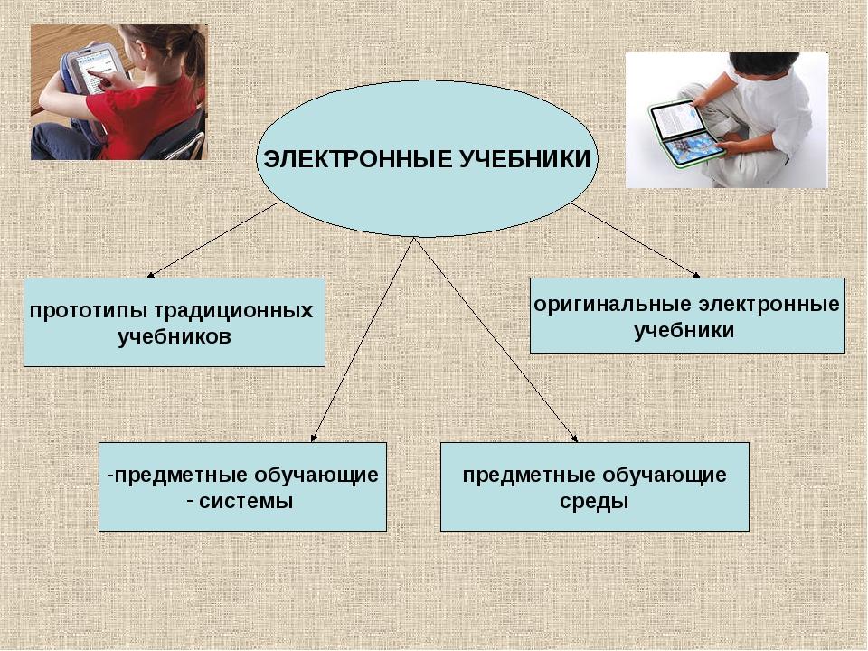ЭЛЕКТРОННЫЕ УЧЕБНИКИ предметные обучающие системы прототипы традиционных учеб...