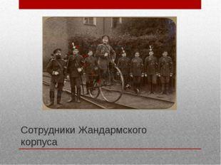 Сотрудники Жандармского корпуса