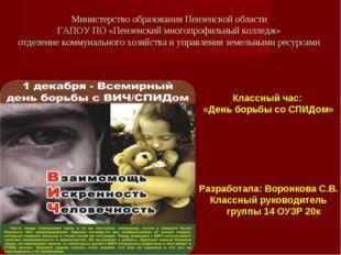 Министерство образования Пензенской области ГАПОУ ПО «Пензенский многопрофиль