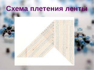 Схема плетения ленты