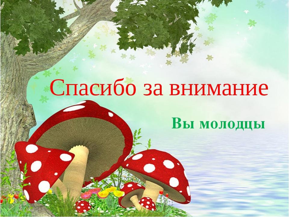 спасибо за внимание грибы анимация закрытой охраняемой территории