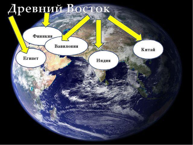 Египет Финикия Вавилония Индия Китай