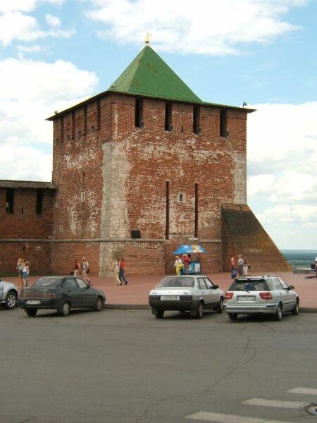 Нижегородский кремль - Георгиевская башня