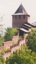 Борисоглебская башня - современный вид - вид с Ивановской башни