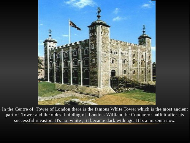 This is the Bloody Tower. It has such name because it once became a state pri...
