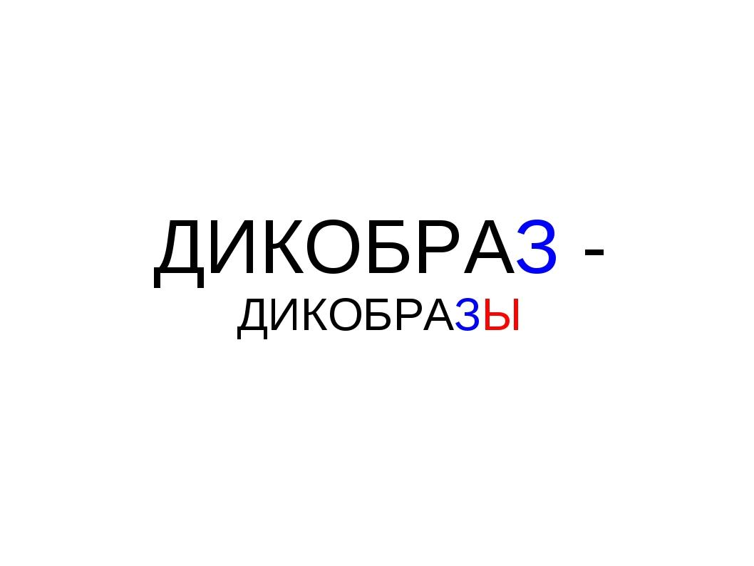 ДИКОБРАЗ - ДИКОБРАЗЫ
