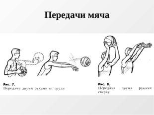 Передачи мяча