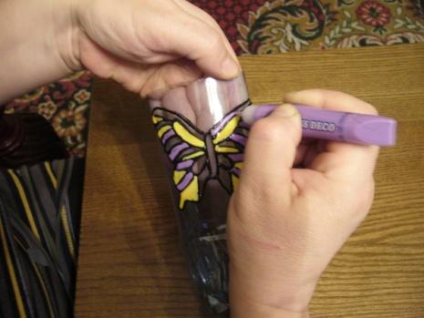Бабочка из пластиковой бутылки. Мастер-класс своими руками.